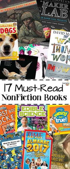 Get kids reading and learning with these must-read nonfiction book from fall 2016!!