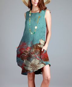Images of blue dresses zulily