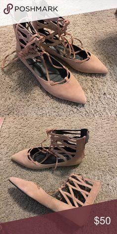 ☑️NEW jeffrey campbell atrium never worn Jeffrey Campbell Shoes Flats & Loafers