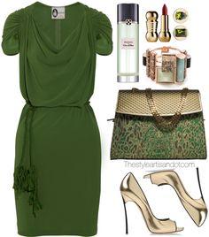 Lavin belted crepe dress