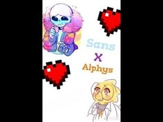 Sans x Alphys - Let her go ~Requested By: Koshi Pug~