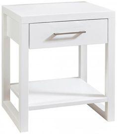 Watson 1-Drawer Nightstand - Bedroom Nightstands - Night Tables - Industrial Bedroom Furniture | HomeDecorators.com