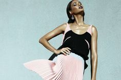 Joan Smalls by Kai Z Feng for May Vogue Australia