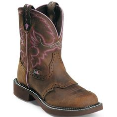 These Gypsy Steel Toe Work Boots from Justin Boots are sure to become your go to pair. The embroidered work boots have a steel toe for protection. Justin Boots, Gypsy Boots, Cowgirl Boots, Riding Boots, Gypsy Cowgirl, Riding Gear, Women's Boots, Western Wear, Western Boots