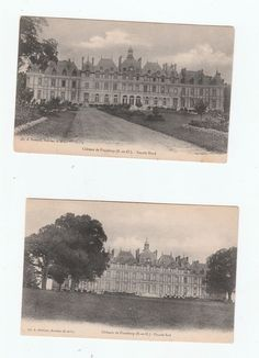 Pinceloup north and south view,  2 Postcards early 1900's unused not stamped