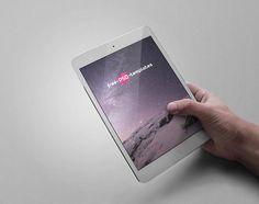 12 Bundle of five iPad Mini Mockups