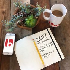 Here's to another year filled with #InsanelySmartIdeas! ☕🎉#Agency #AgencyLife #Marketing #Advertising #NewportBeach #OrangeCounty #California #2017 #Happy #New #Year #HappyNewYear #NewYear2017 #Goals #Resolutions #NewYearsResolutions #Coffee #CoffeeMug #MoreCoffee