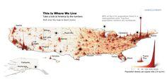 3d population map