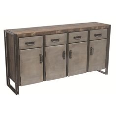MOTI Furniture 4 Drawer Buffet | AllModern