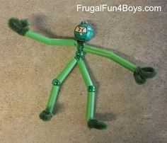 Pipe Cleaner Ninjas - Frugal Fun For Boys
