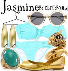 Jasmine by disneybound