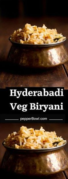 Hyderabadi Veg Biryani, How to make easy and tasty. Explained well with pictures. Very delicious and perfect for lunch.