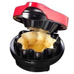 Tortilla Bowls, Tortilla Shells, Taco Bowls, Tortilla Maker, Tortilla Press, Cool Kitchen Gadgets, Small Kitchen Appliances, Cool Kitchens, Kitchen Tools