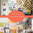 DIY Wall Treatment Ideas :: Hometalk