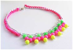 DIY: Fluor necklace
