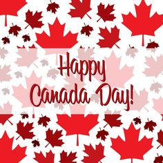 Illustration of Canada Day greeting card poster. Canadian national celebration flyer placard with maple leaf print pattern. vector art, clipart and stock vectors. Canada Day Flag, Canada Day 2017, Happy Canada Day, I Am Canadian, Canadian Girls, Happy Weekend, Long Weekend, Leaf Prints, Are You Happy
