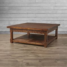 Loon Peak Cheyenne Coffee Table & Reviews | Wayfair