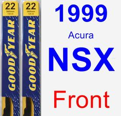 Front Wiper Blade Pack for 1999 Acura NSX - Premium