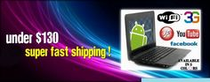 Get best and affordable deals on Mini Laptops, Mini Netbook, Android Netbooks, Kids Notebook, Notebook Computer  other electronic Gadgets at wolvol.com in USA.