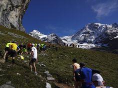 Jungfrau Marathon - der letzte Anstieg