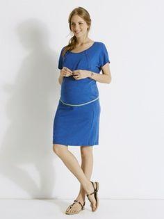Vestido casual evolutivo, para a gravidez e a amamentação
