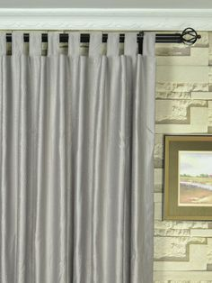 swan dimensional embossed midscale floral extra wide curtains are tab top curtains the pattern is clearly presented in midscale flower by dimensional