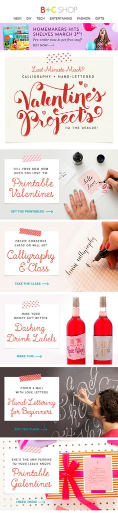 Hand Lettering Valentines