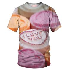 Sweetheart T-Shirt - Special 3D Sublimation Printing Technique - Sale available on shirts, tshirts, sweatshirts (jumpers) and hoodies.
