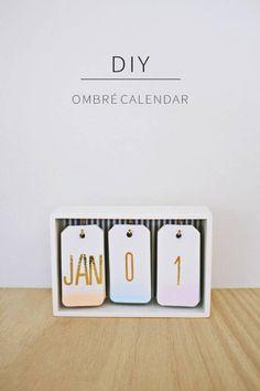 Cadeau fête des mères à faire soi-même : un calendrier
