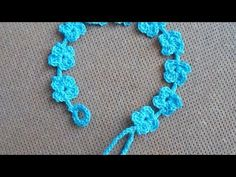 Crochet Bracelet Pattern How To Crochet A Pretty Summer Flower Bracelet Diy Style Tutorial Crochet Bracelet Pattern Blue Bead Crochet Bracelet With Geometrical Pattern Stock Photo. Crochet Bracelet Pattern All About Crochet Free Pattern Lace. Crochet Bracelet Tutorial, Crochet Beaded Bracelets, Bead Crochet, Irish Crochet, Crochet Crafts, Crochet Projects, Crochet Necklace, Diy Hair Accessories, Crochet Accessories