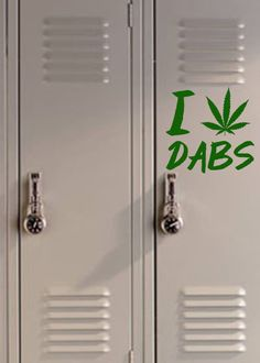I Heart Dabs Decal Weed Sticker 420 Cannabis by RespectPrinting, $11.00