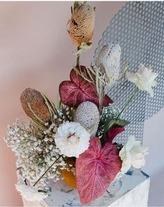 Such a cool mix of varieties Elegant Flowers, Simple Flowers, Pretty Flowers, Flora Flowers, Faux Flowers, Paper Flowers, Faux Flower Arrangements, Flower Centerpieces, Orange Roses