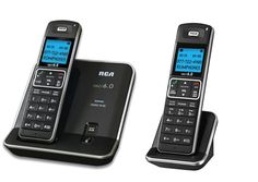 RCA 21112Bsga Silver Cordless Phone 2Handset 6.0 Speaker Phone. DECT 6.0 Step…