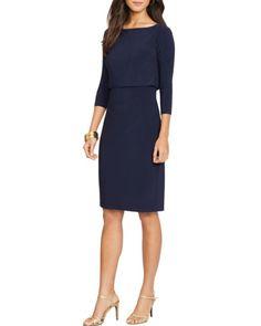 Lauren Ralph Lauren Dress - Three-Quarter Sleeve | Bloomingdales's