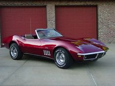 Over its run, the Corvette has largely stuck to its original objective of providing homegrown performance wrapped in a stylish, two-seat p. 1969 Corvette, Old Corvette, Corvette Summer, Classic Corvette, Chevrolet Corvette Stingray, Yellow Corvette, Classic Chevrolet, Chevy, Automobile