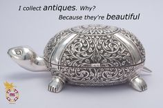 I collect antiques. Pearl Jewelry, Diamond Jewelry, Gold Jewelry, Jewelry Rings, Silver Pooja Items, Silver Accessories, Toe Rings, Tea Pot, Gold Bangles