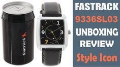 Best Style Low Budget Leather Band Fastrack Wrist Watch Review Unboxing