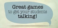 5 great games to use in an ESL classroom.  These activities are surefire ways to conduct a fun and exciting class for all, and the best part is they can be modified to work with teens or kids.