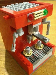 Lego coffee machine