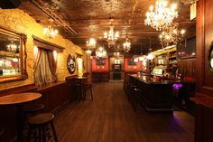 The Speakeasy at the Gin Mill, NYC.