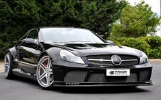 Mercedes Benz SL Black Series Conversion. Facelift conversion for SL500, SL55, SL65, SL600 and SL63 AMG par versatileauto.ca