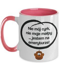 Polish English Retirement Quote Mug Gift Not My Circus Not My Monkeys Funny Retirement Gifts, Retirement Quotes, Polish English, Not My Circus, Best Deals Online, Funny Mugs, Tea Mugs, Humor, Etsy