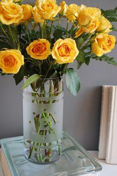 Etch a vase