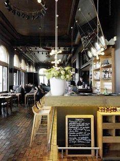 Restaurant Visit: Hangar Eenenveertig in Antwerp : Remodelista