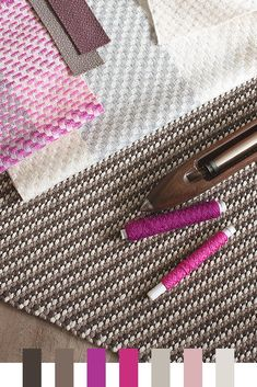 Colour Inspiration: Magenta, Fuchsia and Sepia Textile Patterns, Textile Design, Colour Inspiration, Design Color, Yarn Colors, Color Palettes, Magenta, Claire, Color Schemes