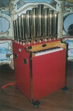 Circus Calliope, Building plans Book, 43 Brass Pipe, Air pipe Organ  #Tangley