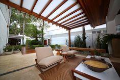 Terrazas de estilo translation missing: mx.style.terrazas.moderno por MeyerCortez arquitetura & design