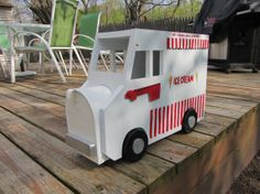 Handmade Custom Wooden Functional  Ice Cream by tomscraftcastle, $110.00