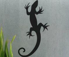 Vinyl Wall Decal Sticker uBer Decals Lizard kids wall decal 29Hx16W Gecko