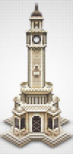 Pixel Illustrations by Omer Cetin, via Behance